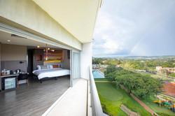 Novotel Itu Terras de São José Golf & Resort- Apto - Varanda