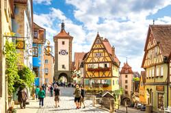 Rothenburg ob der Tauber - Alemanha.