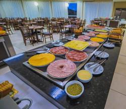 Machadinho Thermas Resort SPA - Área do café da manhã
