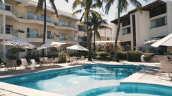 Hotel Mar Brasil -  area externa