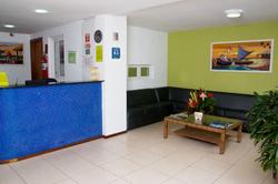 Saint Patrick Praia Hotel- Saguão - Rece