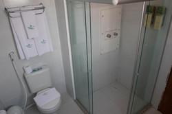 Village Confort Hotéis e Flat João Pessoa- Apto - Banheiro