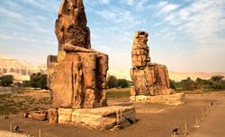 Colossos de Mêmnon - Egito