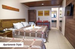 Village Barra Hotel - Apto Triplo
