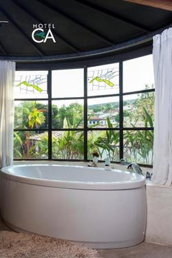 Hotel Canto das Águas - Apto Luxo - Hidromassagem