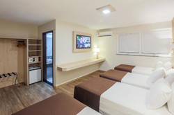 Luz Hotel- Apto Quadruplo