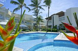 Hotel Mar Brasil -  area externa -  piscina