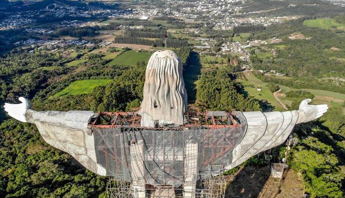 Gaúchos terão Estátua do Cristo maior que a do Rio de Janeiro