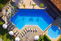 Village Paraíso Tropical - Vista aerea da piscina