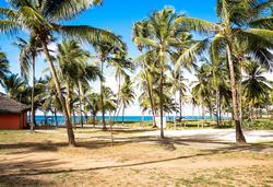 Bahia Plaza Hotel - Área Externa- acesso à praia