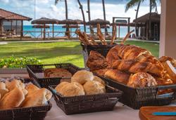 Village Paraíso Tropical - café da manhã buffet