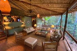 Anavilhanas Lodge- Área Interna- Saguão.