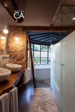 Hotel Canto das Águas - Apto luxo - Banheiro