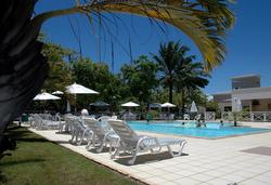 Bahia Plaza Hotel - Área Externa - Piscina