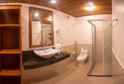 Village Paraíso Tropical -apto superior - toalete