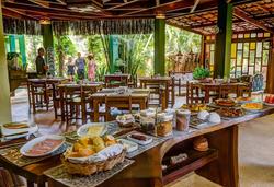 Pousada Vila dos Pássaros - Buffe - Café da manhã
