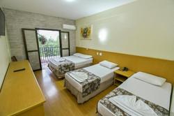 Vilage Inn All Inclusive Poços de Caldas - Apto Quadruplo