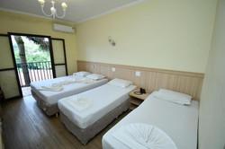 Vilage Inn All Inclusive Poços de Caldas - Apto Quadruplo - varanda