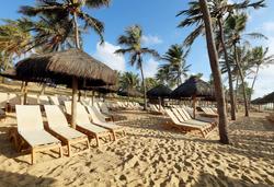 Grand Palladium Imbassaí Resort & Spa - acesso a praia