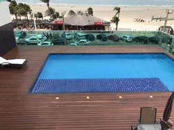 Litorânea Praia Hotel- Área externa - Piscina