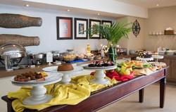 Village Confort Hotéis e Flat João Pessoa- Café da manhã - Buffet