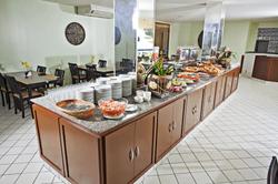Aram Ponta Negra - Restaurante - Área do café da manha
