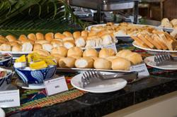 Village Barra Hotel- Café da manhã - Buffet