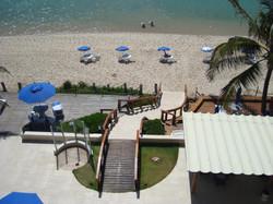 Village Barra Hotel - Acesso à praia.