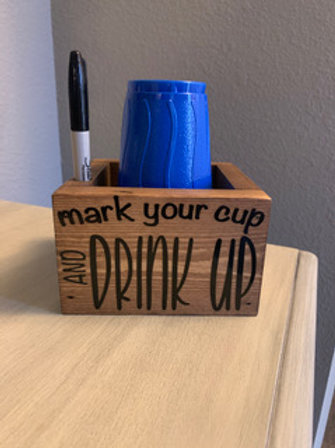 Mark Your Cup and Drink Up