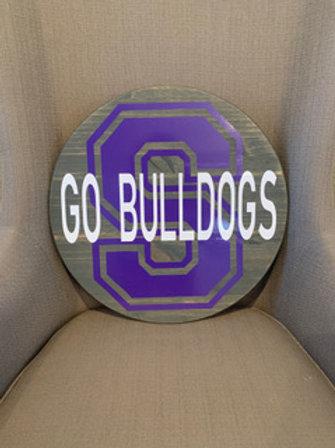 Swanton Bulldogs Door Circle