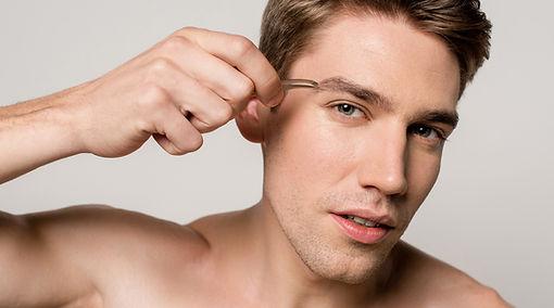 Mens Natural Brow Shaping Services Calga