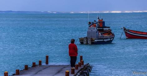 Fishing Lady