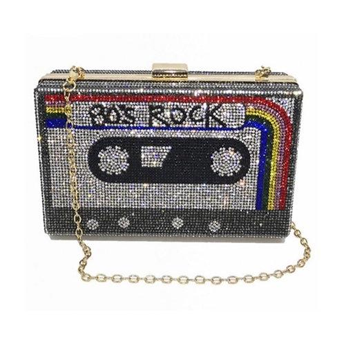 80's Mixed Tape Bling Bag