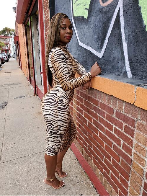 Stripes On My Body Dress