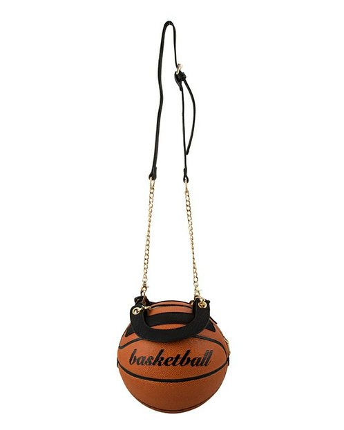 basketball bag crossbody handbag