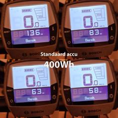 Standaard Bosch accu 400Wh