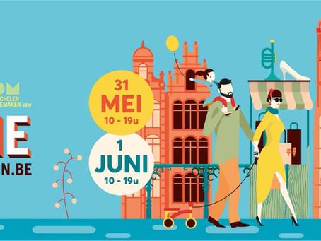 31 mei & 1 juni Braderie in Mechelen