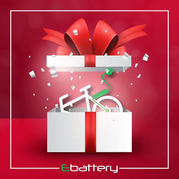 Ebattery fietsbatterij revisie cadeaubon