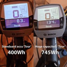 400Wh vs 745Wh Tour