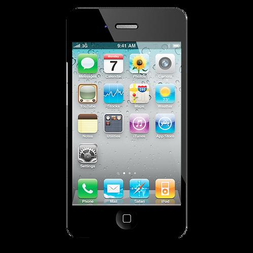 iPhone 4 Achterkant (herstelling inbegrepen)