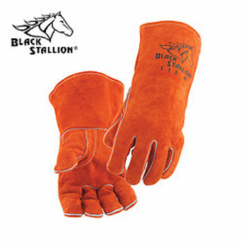 Black Stallion 110 Split Cowhide Standard Stick Welding Gloves