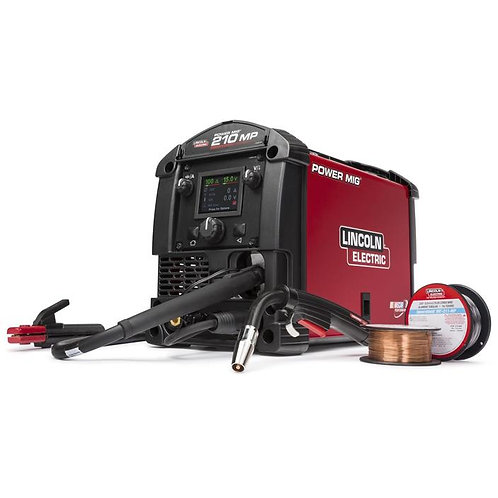 Lincoln POWER MIG 210 MP Multi-Process Welder - K3963-1