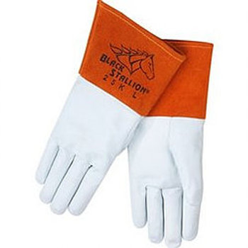 25K Premium Grain Kidskin TIG Welding Glove -Long
