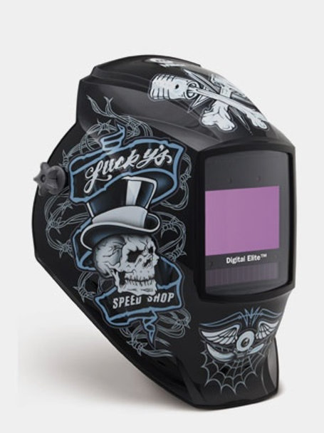 Miller Welding Helmet - Lucky's Speed Shop™