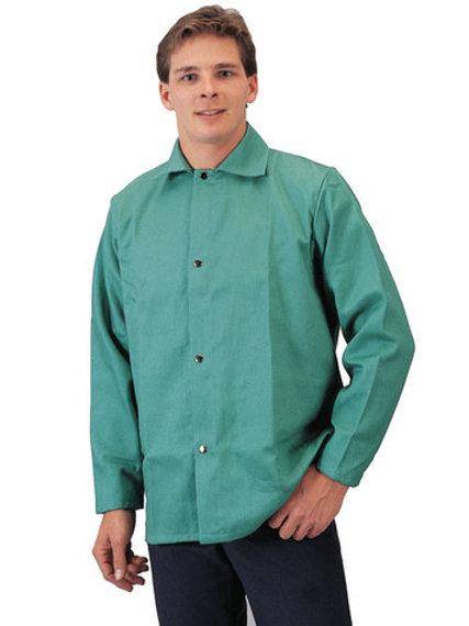 Tillman 6230-L Flame-Retardant Cotton Jackets With Snap Front Closure