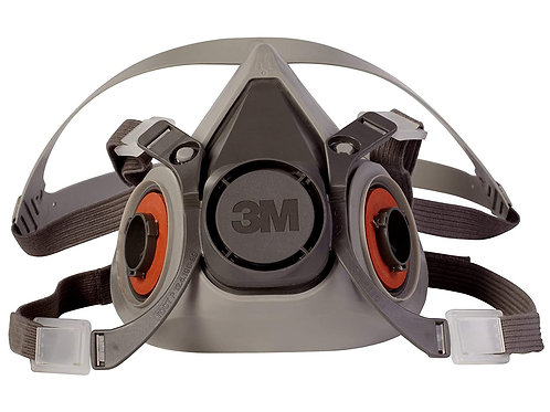 3M Half Facepiece Reusable Respirator 6200
