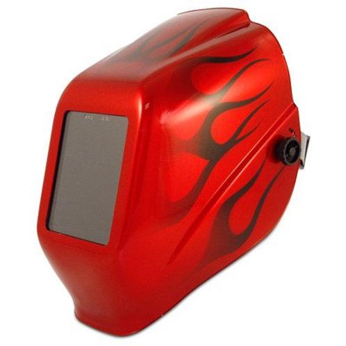 Jackson Halo X Red Flame Shade 10 Welding Helmet HLX 100 I2 SH10