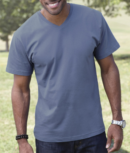 LAT Men's V-Neck T-Shirt