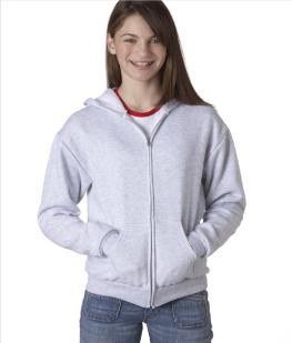 Youth Zipper Hooded Sweatshirt