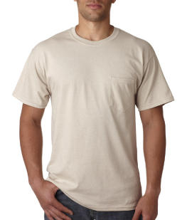 Adult Short Sleeve Pocket T-Shirt